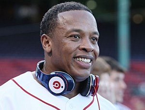 Dr Dre at Red Sox Game