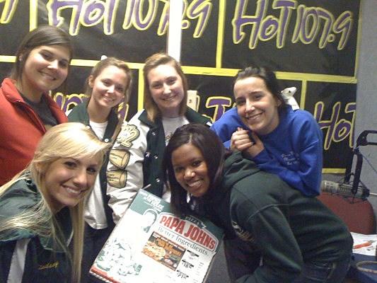 """The Thursday Night Pep Rally"" for the 2010 High School Football Season."