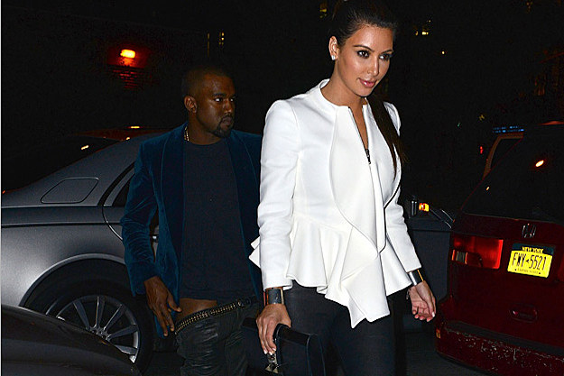 > Kim Kardashian explains why Kanye West's pants were down. - Photo posted in The Hip-Hop Spot | Sign in and leave a comment below!