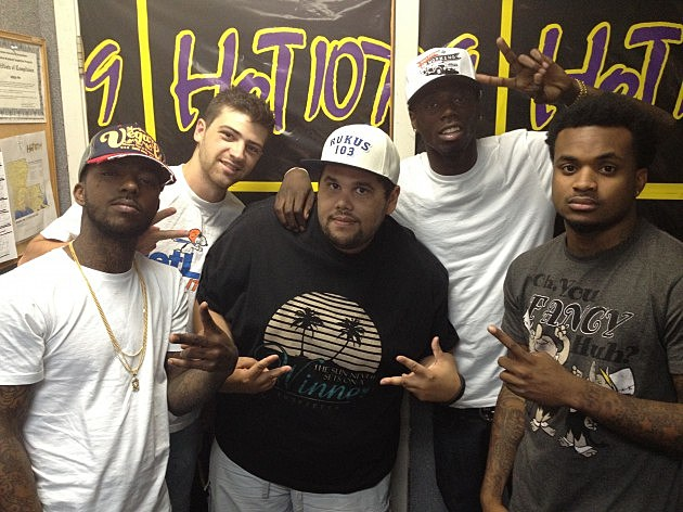 Travis Porter Visits Hot 107.9