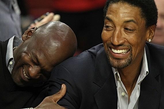 jordan pippen laughing