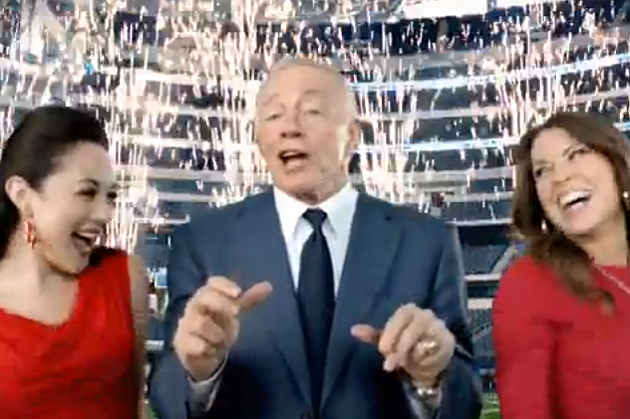 jerry jones papa johns rap commercial