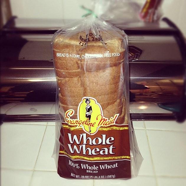 evangeline maid wheat bread