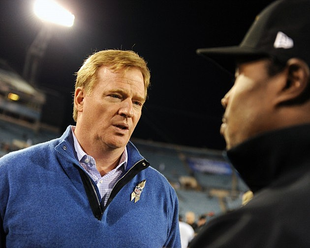 roger goodell finds out the saints are at .500