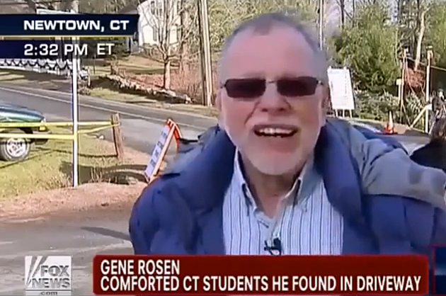 gene rosen harrassed after sandy hook shooting fully exposed video alleges he is a crisis actor