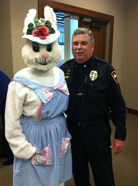 lafayette police chief jim craft easter bunny
