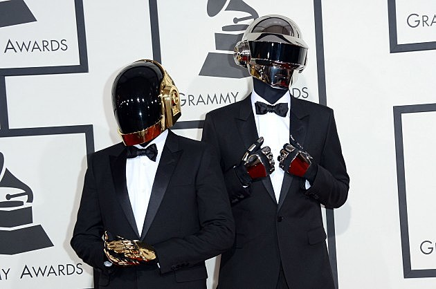 daft punk without helmets on
