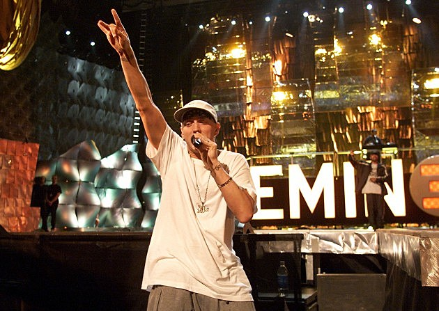 best rappers of the 2000s - eminem