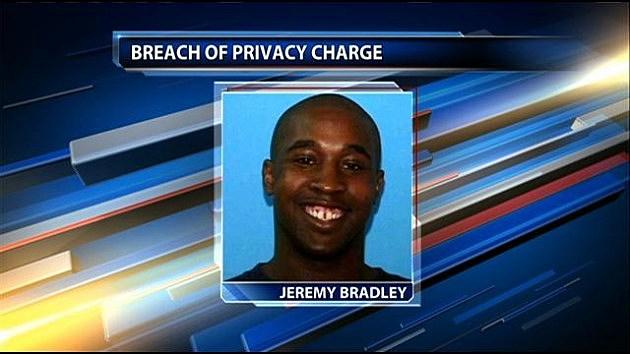 jeremy bradley arrested peeping tom