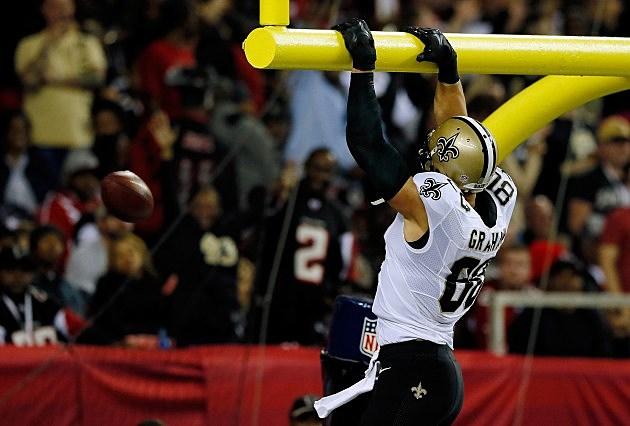 jimmy graham rule nfl bans dunking over goal post