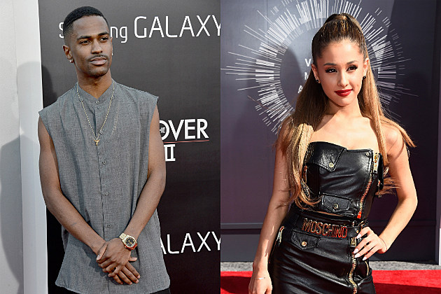 ariana grande big sean holding hands mtv vma