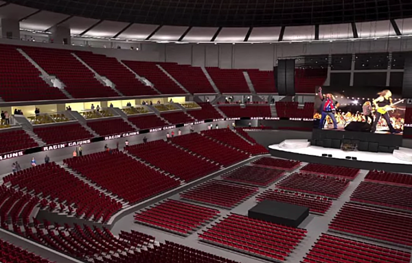 First Look At Proposed 16m Cajundome Renovations Video