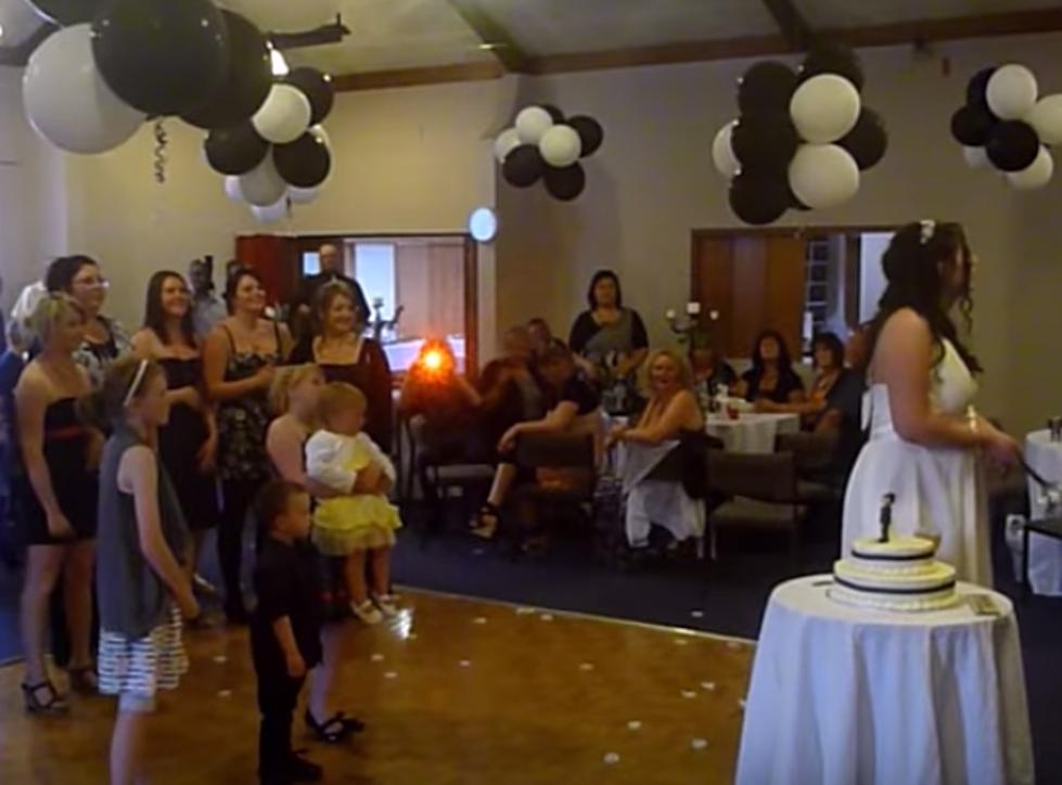 Young Girl Drops Baby At Wedding Reception