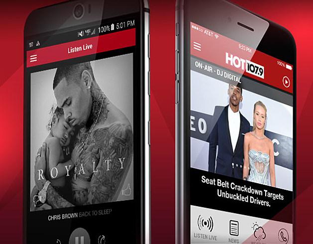 Download HOT 107.9 App