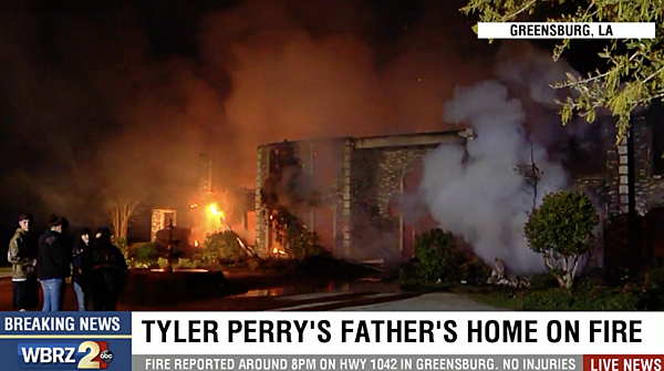 Massive Fire Destroys Tyler Perry S Father S Home In