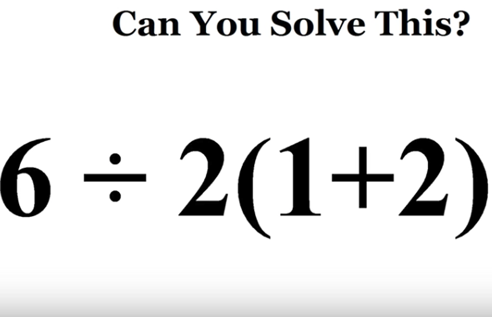 Can You Correctly Solve This Mathematical Equation?